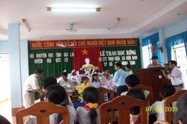 Chuyến từ thiện tại Huyện Đức Cơ, Gia Lai