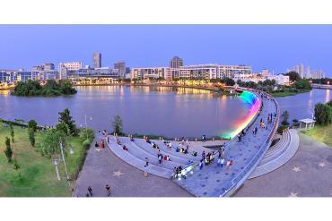 Infographic: Những con số ấn tượng của khu đô thị Phú Mỹ Hưng